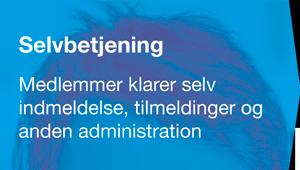 Selvbetjening - CiviCRM